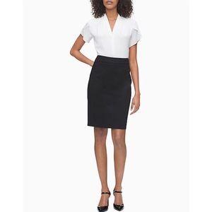 Calvin Klein Pencil Suit Skirt